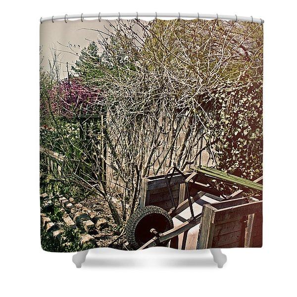 Behind the Garden Shower Curtain by Tom Gari Gallery-Three-Photography