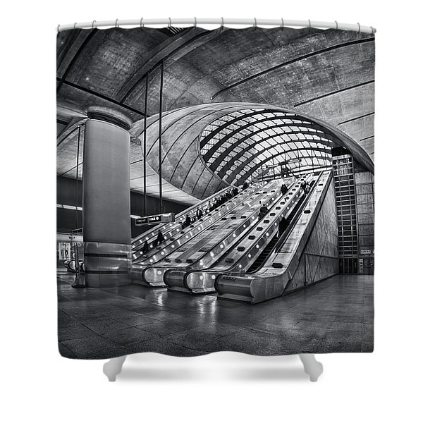 Beneath The Surface Of Reality Shower Curtain by Evelina Kremsdorf