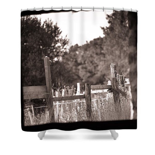 Beyond The Stable Shower Curtain by Loriental Photography