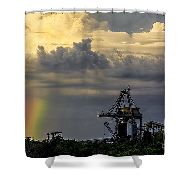 Big Bend Rainbow Shower Curtain by Marvin Spates