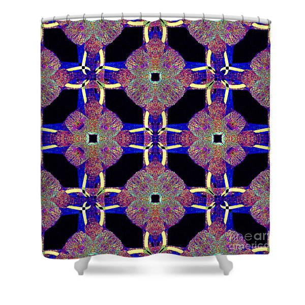 Big Elephant Abstract 20130201m118 Shower Curtain by Wingsdomain Art and Photography