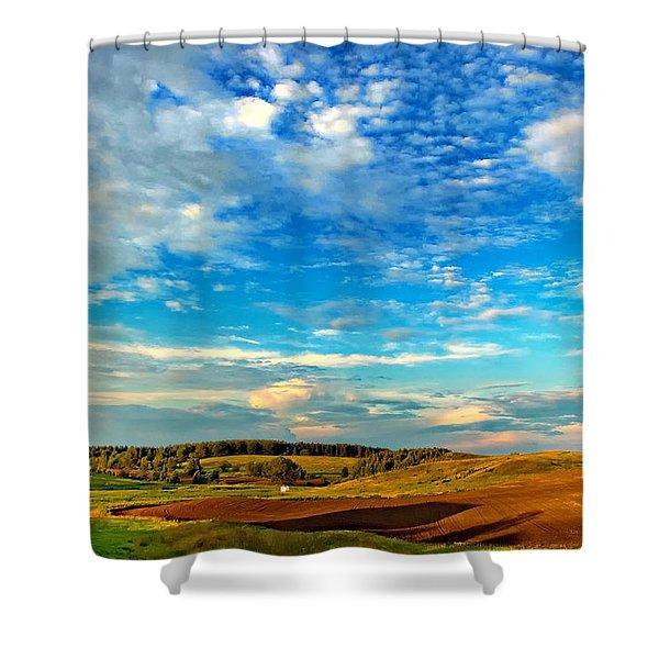 Big Sky Ontario Shower Curtain by Steve Harrington
