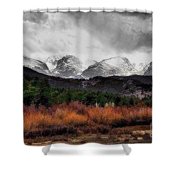 Big Storm Shower Curtain by Jon Burch Photography