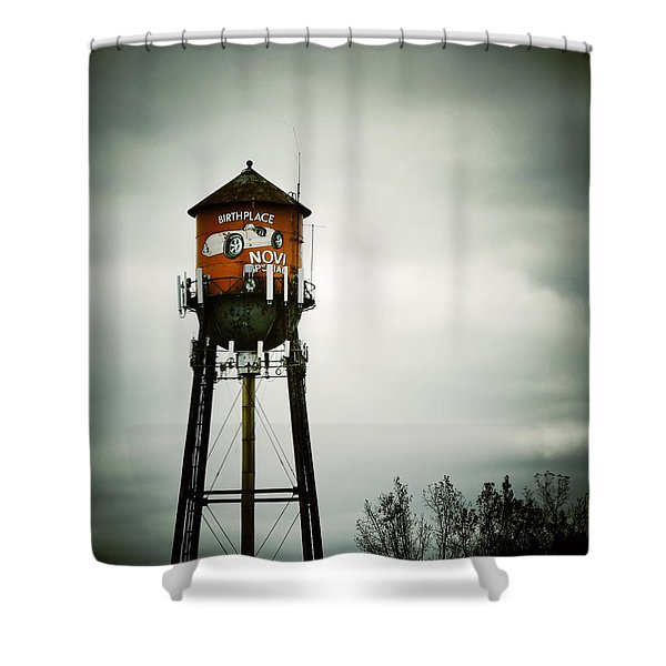 Birthplace Novi Special Shower Curtain by Natasha Marco