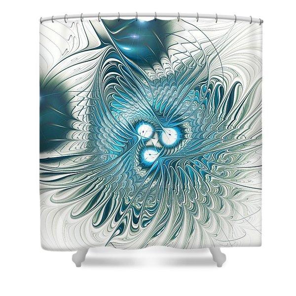 Blend Shower Curtain by Anastasiya Malakhova