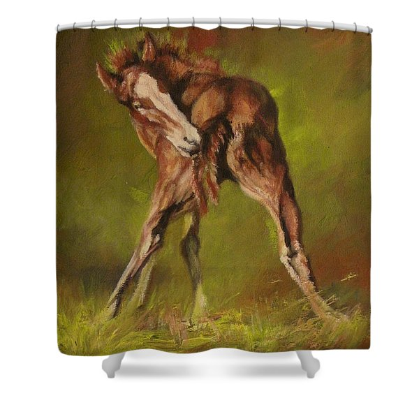 Bliss Shower Curtain by Mia DeLode