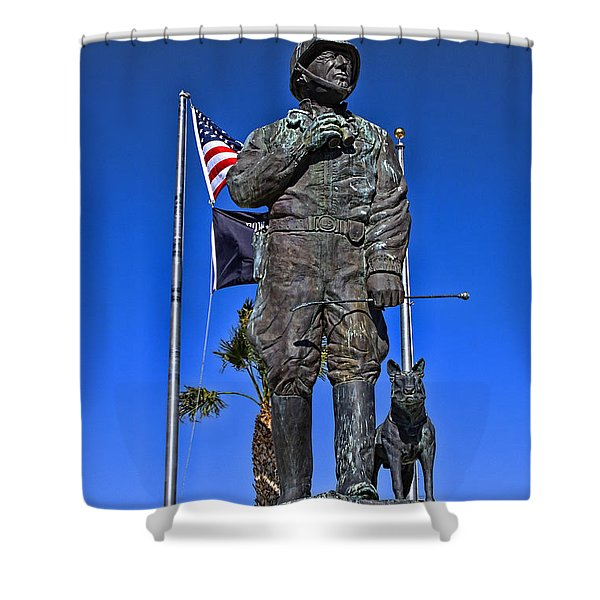Blood And Guts Shower Curtain by Tommy Anderson