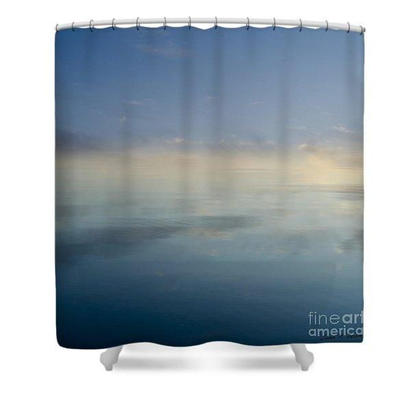 Blue Morning At Glendale Shower Curtain by David Gordon