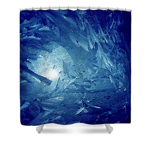 Blue Shower Curtain by Richard Thomas