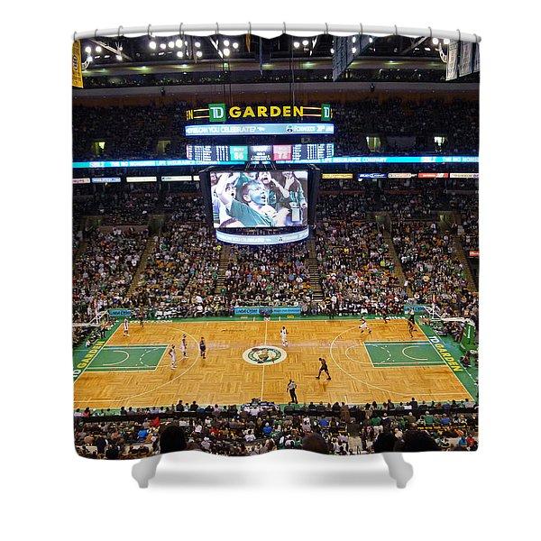 Boston Celtics Shower Curtain by Juergen Roth
