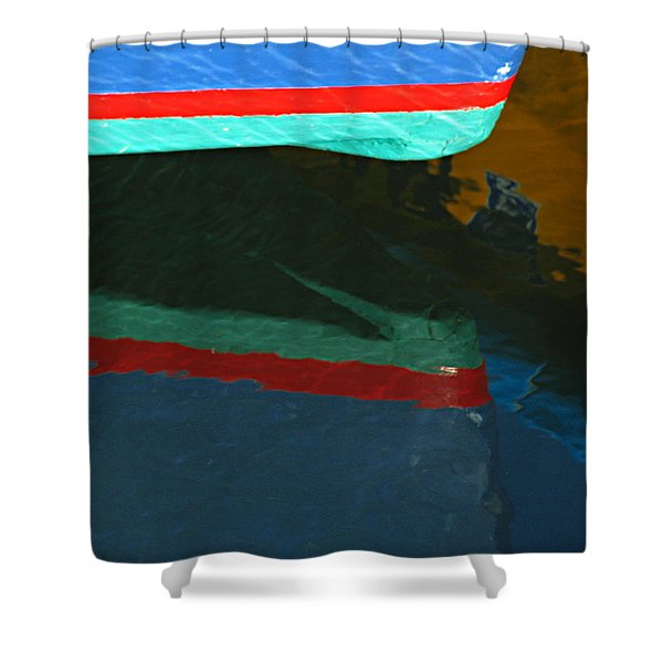 Bow Reflection Shower Curtain by Juergen Roth