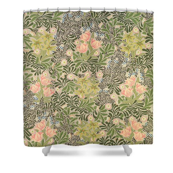 Bower design Shower Curtain by William Morris
