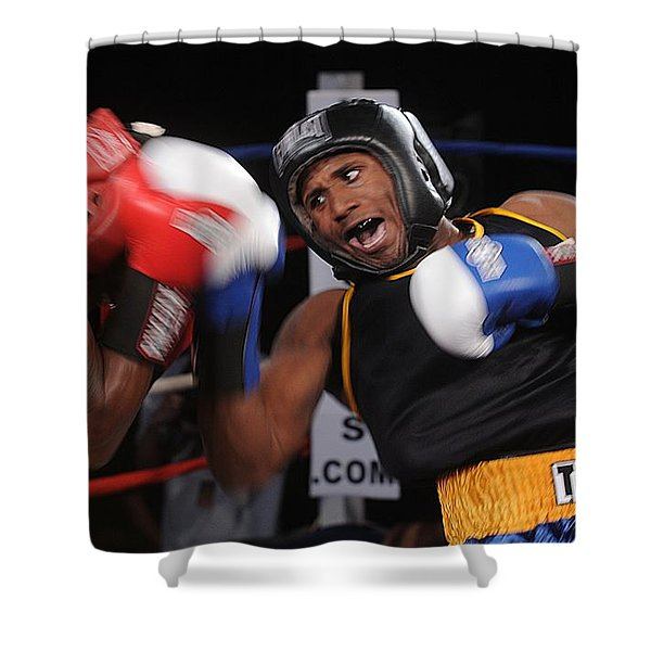 Boxing Shower Curtain by Mountain Dreams