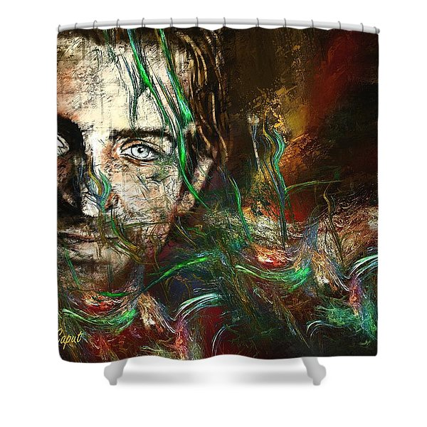 Bradley Shower Curtain by Francoise Dugourd-Caput