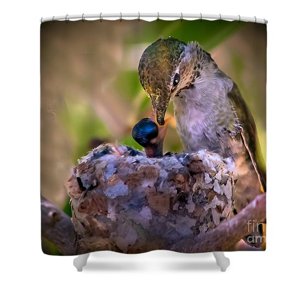 Breakfast Shower Curtain by Robert Bales