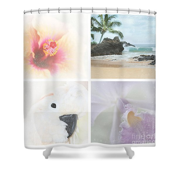 Breathe . feel the wind . . . Shower Curtain by Sharon Mau