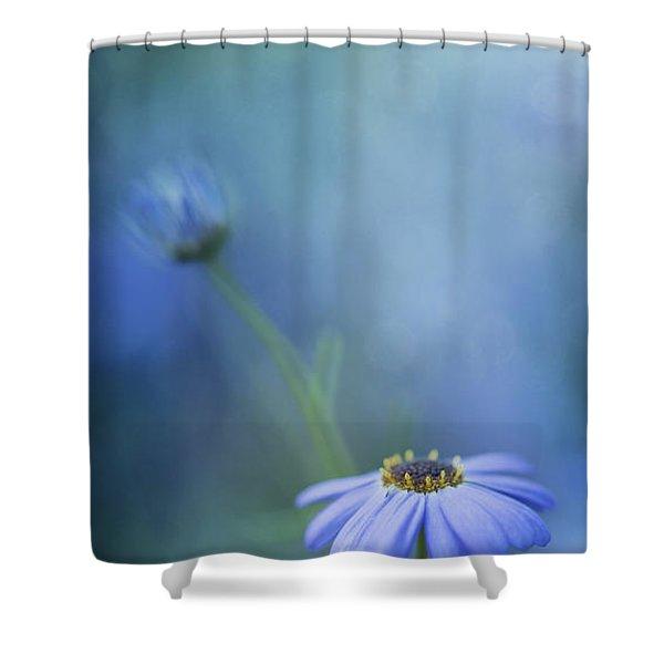 Breathe Deeply Shower Curtain by Priska Wettstein