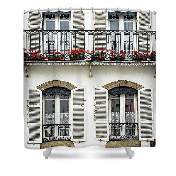 Breton house Shower Curtain by Elena Elisseeva