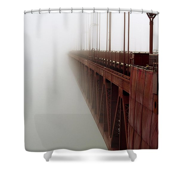 Bridge to Obscurity Shower Curtain by Bill Gallagher