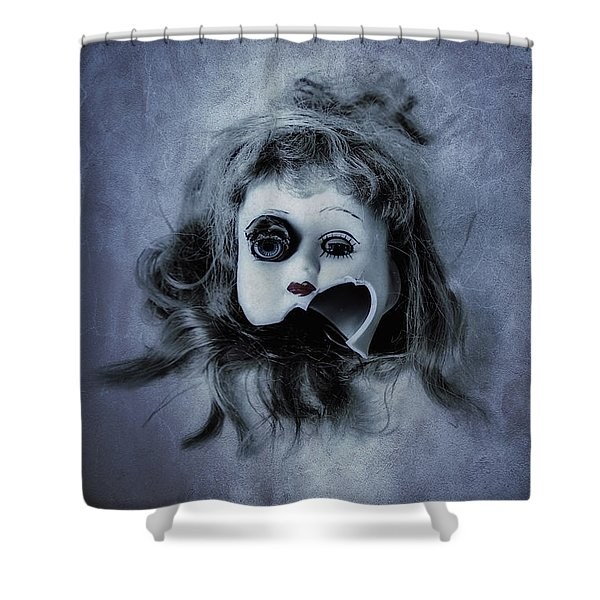 Broken Head Shower Curtain by Joana Kruse