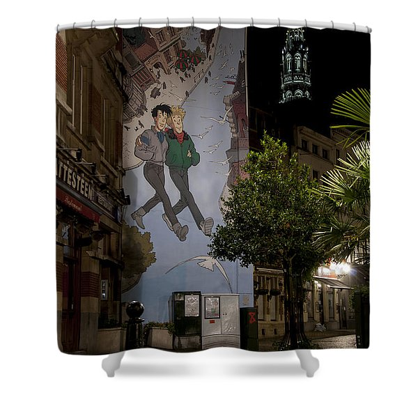 Broussaille Shower Curtain by Juli Scalzi