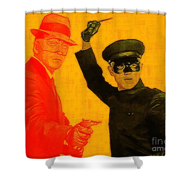 Bruce Lee Kato And The Green Hornet 20130216 Shower Curtain by Wingsdomain Art and Photography