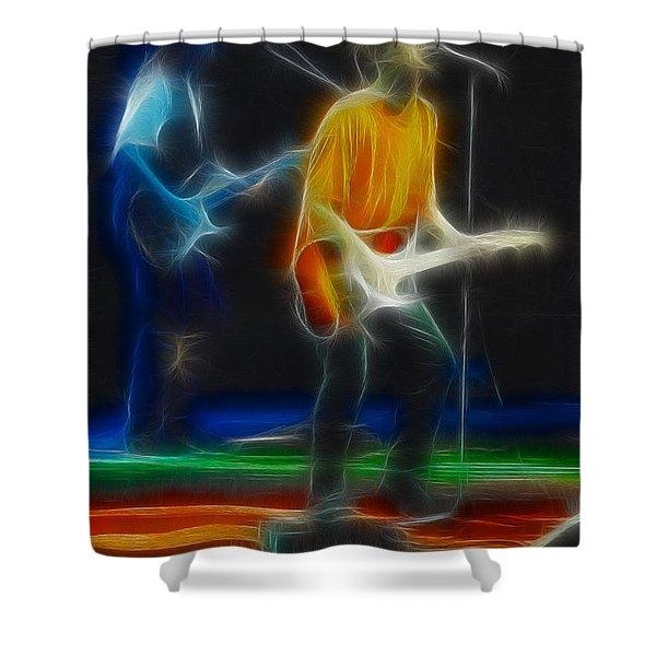Bryan Adams-neighbors-ge17-fractal Shower Curtain by Gary Gingrich Galleries
