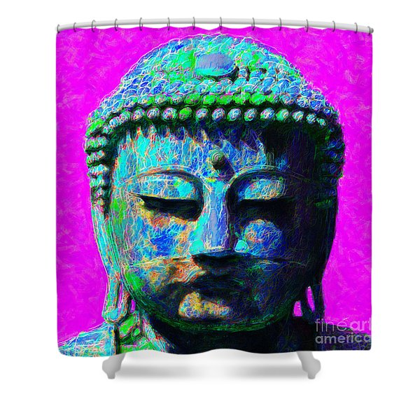 Buddha 20130130p76 Shower Curtain by Wingsdomain Art and Photography