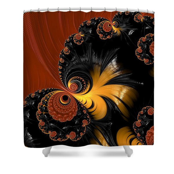 Butterfly Shower Curtain by Heidi Smith