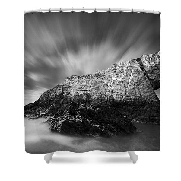 Bwa Gwyn Shower Curtain by Dave Bowman