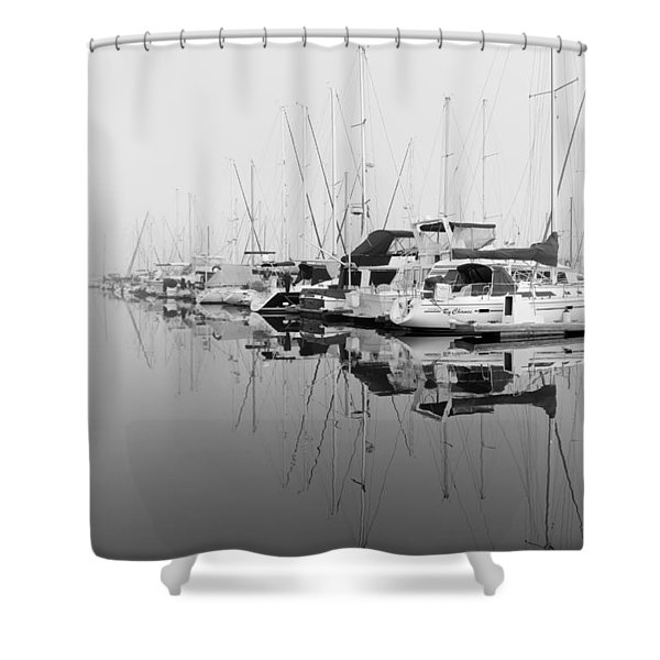 By Chance Shower Curtain by Heidi Smith