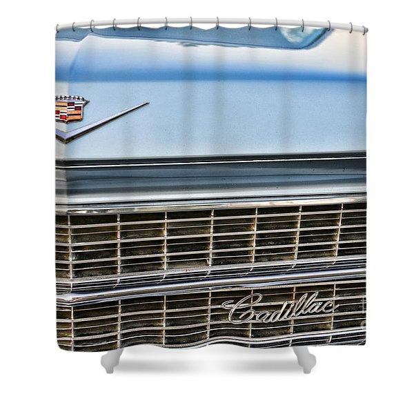 Caddy Grill Shower Curtain by Paul Ward