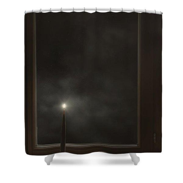 candle light Shower Curtain by Joana Kruse