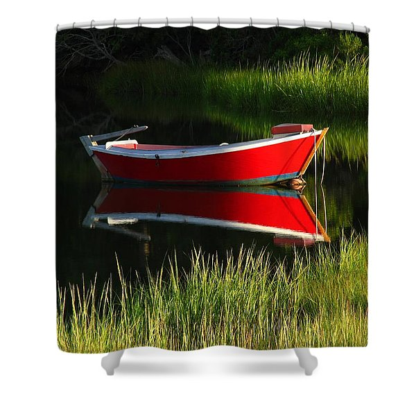 Cape Cod Solitude Shower Curtain by Juergen Roth