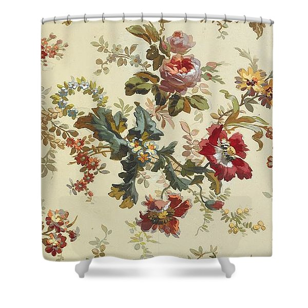 Carpet design Shower Curtain by English School