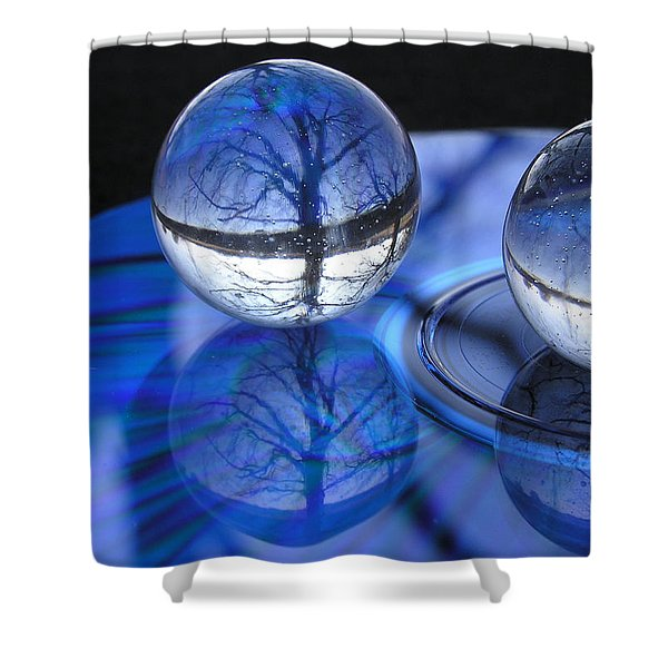 Caught In Time Shower Curtain by Shannon Story