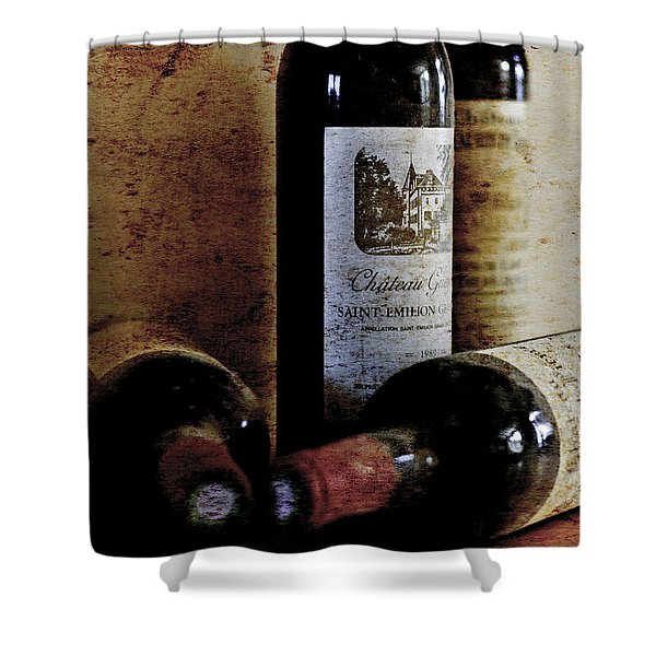 Cellar Finds Shower Curtain by Nomad Art And  Design