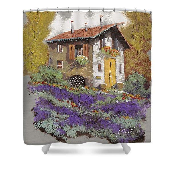 cento lavande Shower Curtain by Guido Borelli