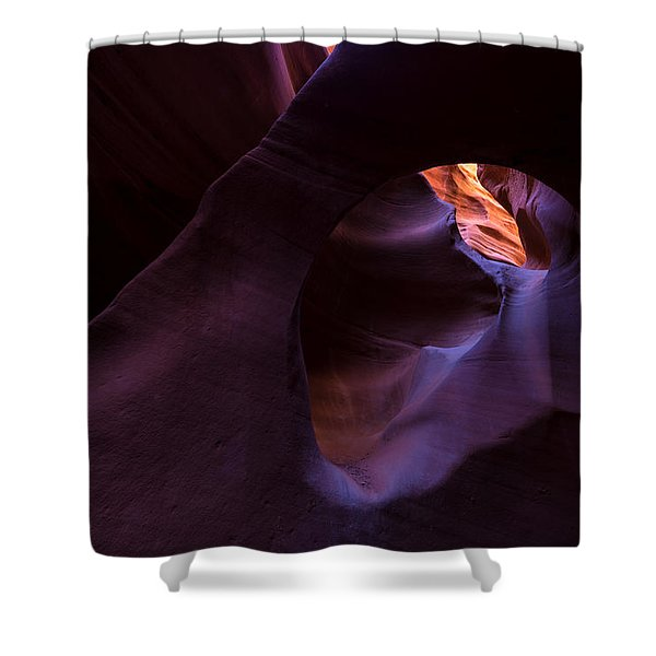 Chamber Of Reflection Shower Curtain by Dustin  LeFevre