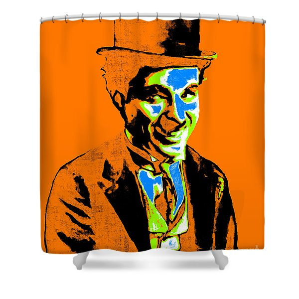 Charlie Chaplin 20130212p28 Shower Curtain by Wingsdomain Art and Photography