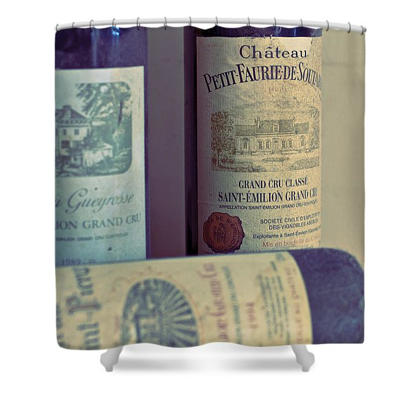 Chateau Petit Faurie de Soutard Shower Curtain by Nomad Art And  Design