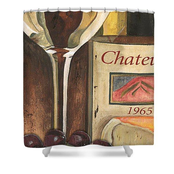 Chateux 1965 Shower Curtain by Debbie DeWitt