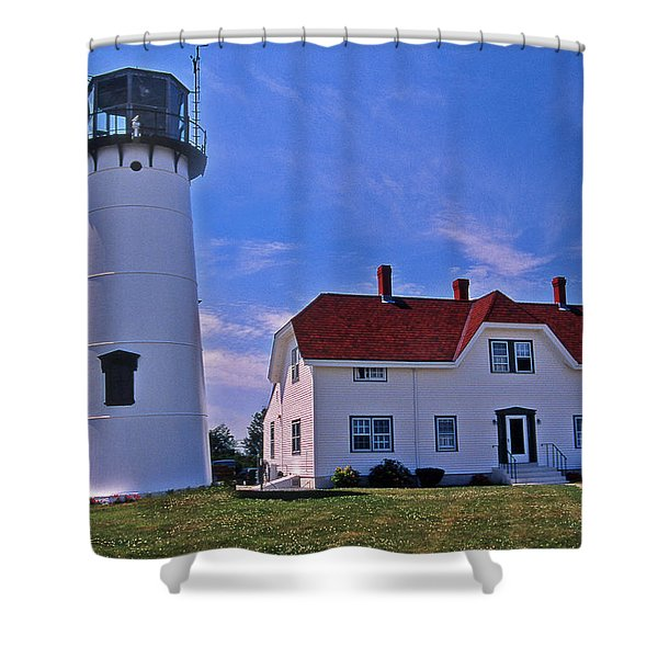 CHATHAM LIGHT Shower Curtain by Skip Willits