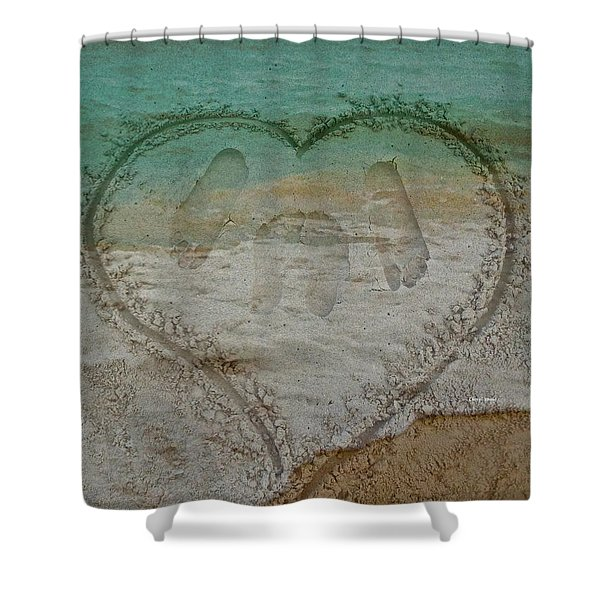 Cherish every day Shower Curtain by Cheryl Young