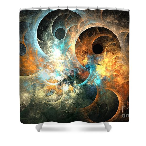 Cirrostratus Shower Curtain by Kim Sy Ok