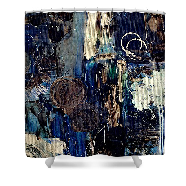 Clafoutis d Emotions - p03k07t Shower Curtain by Variance Collections