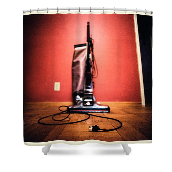 Classic Kirby Vacuum Shower Curtain by Yo Pedro