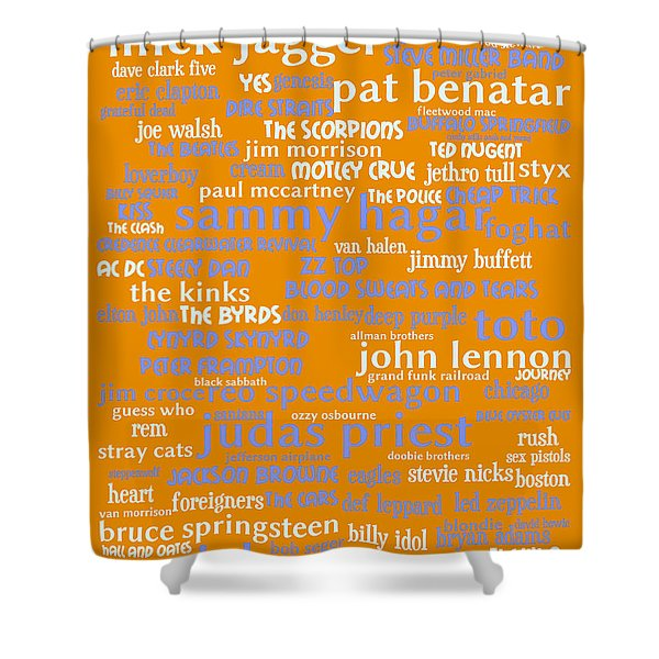 Classic Rock 20130625p168 Shower Curtain by Wingsdomain Art and Photography