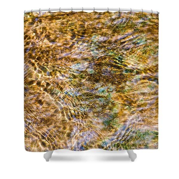 Clean Stream 1 - Featured 2 Shower Curtain by Alexander Senin