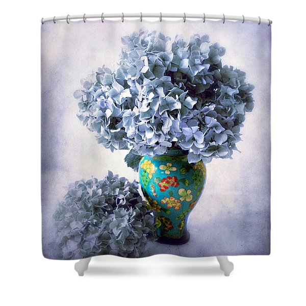 Cloisonne Shower Curtain by Jessica Jenney